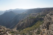 dianas viewpoint jebel akhdar